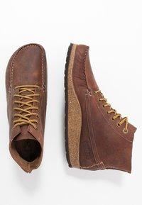 Birkenstock - MARTON - Kotníková obuv - roast - 3