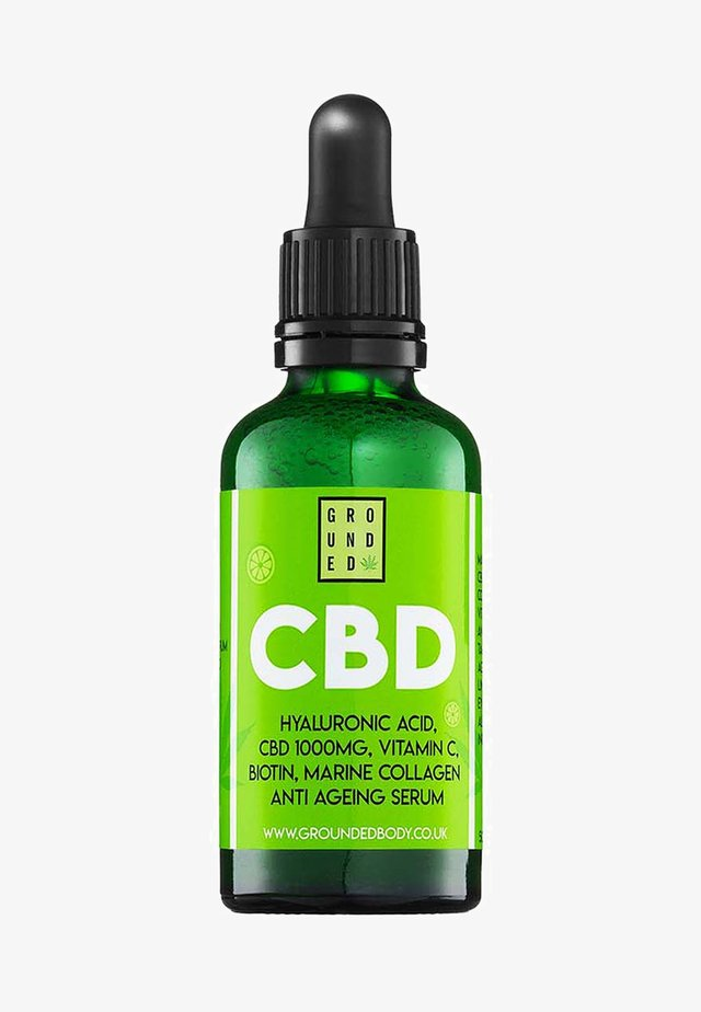 CBD AND HYALURONIC ACID SERUM - Serum - -