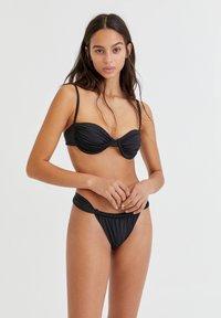 PULL&BEAR - Bikini bottoms - black - 3