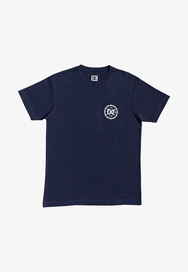 CHAINED UP  - T-shirt print - black iris