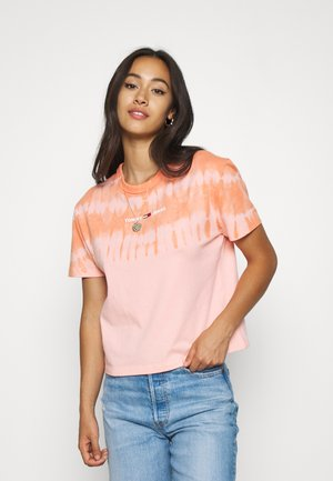 SUMMER TIE DYE TEE - T-shirt imprimé - sweet peach/multi