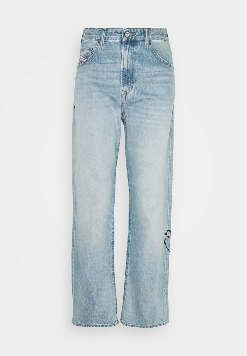 Diesel - D-REGGY - Relaxed fit jeans - light blue