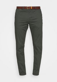 Scotch & Soda - NEW BELTED  - Chinos - charcoal - 3