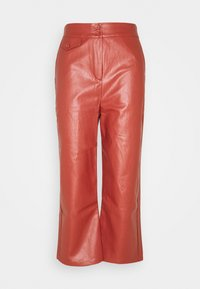 Fashion Union Petite - JACOB TROUSER - Broek - rust - 0