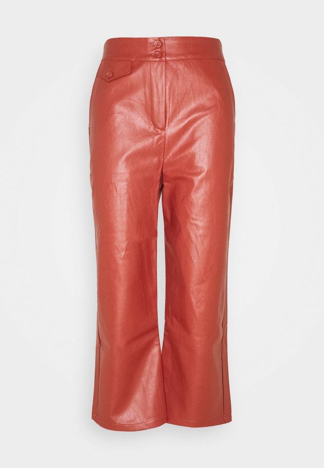 JACOB TROUSER - Trousers - rust