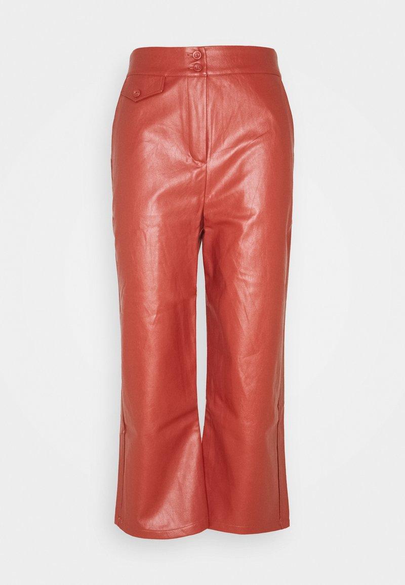 Fashion Union Petite - JACOB TROUSER - Trousers - rust