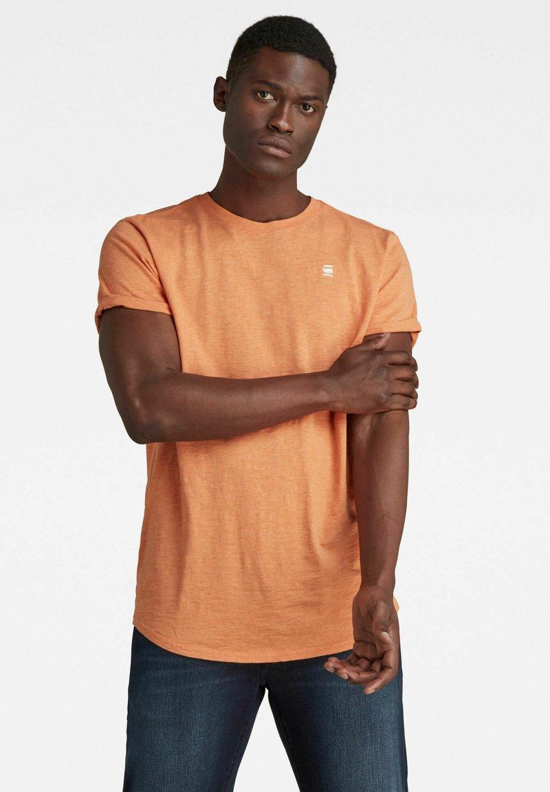 G-Star - LASH - Basic T-shirt - light paste htr