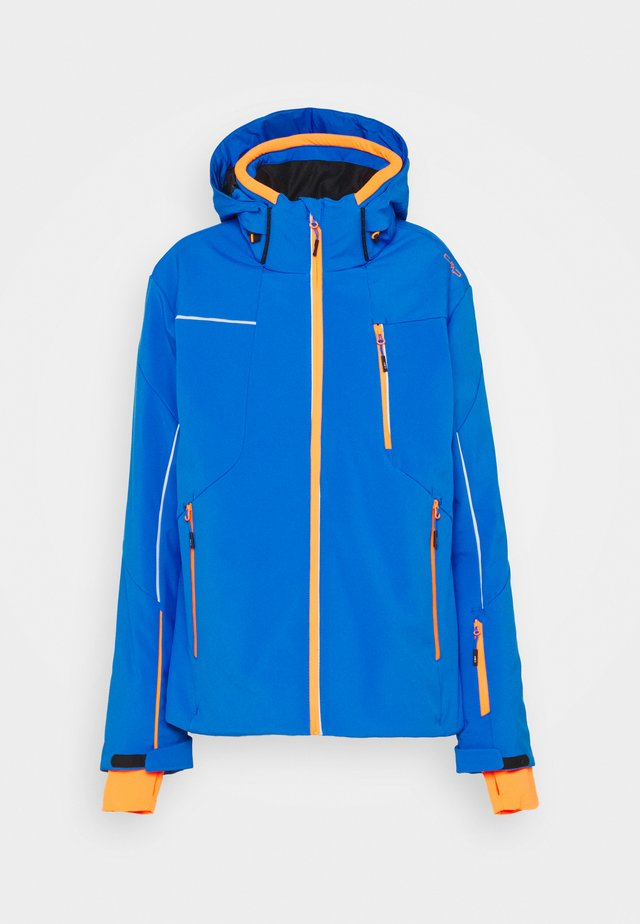 MAN JACKET ZIP HOOD - Ski jacket - royal