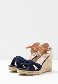 Kanna - SIENA - High heeled sandals - marino - 4