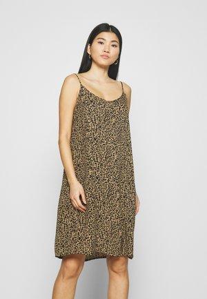 DRESS - Day dress - ermine