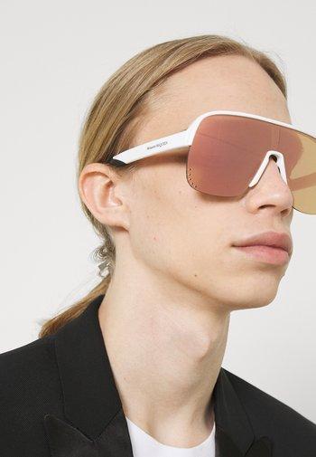 UNISEX - Sunglasses - white/pink