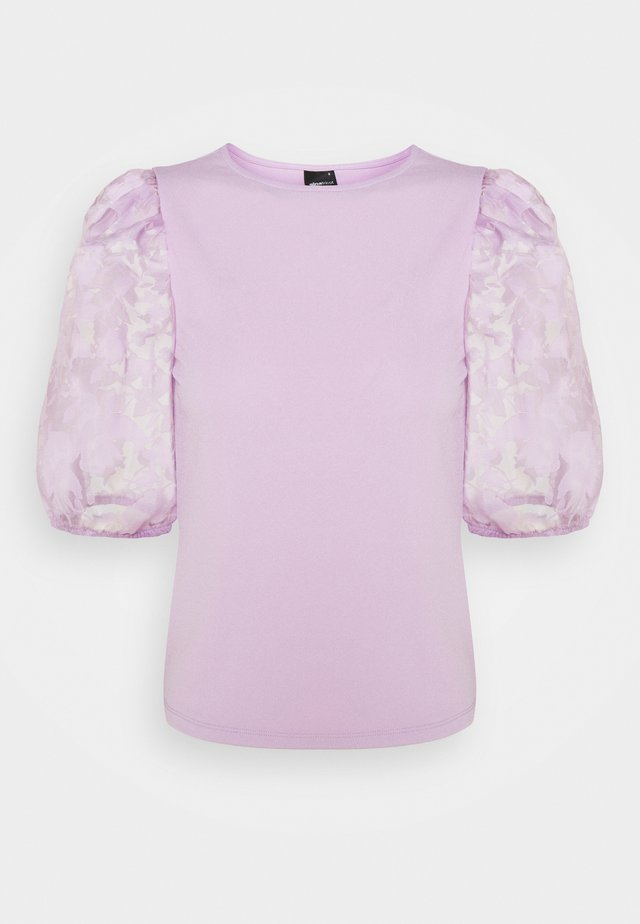 POLLY TOP - T-shirt con stampa - light purple