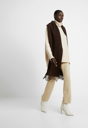 REI SCARF - Scarf - brown