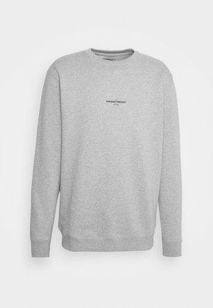 CREW NECK - Sweatshirt - grey melange