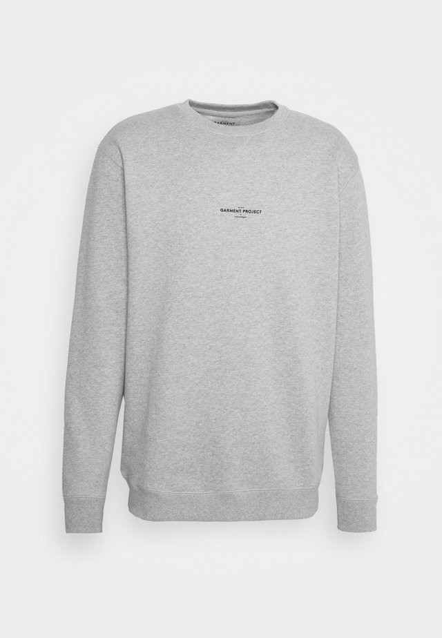 CREW NECK - Sweatshirt - grey melange