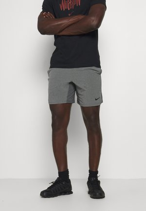 SHORT YOGA - Pantaloncini sportivi - iron grey/grey fog/black