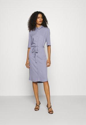 RYAWA DRESS - Vestido camisero - silver blue
