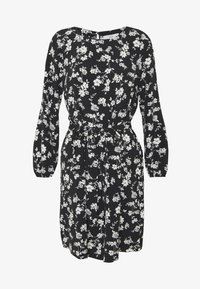 Wallis Petite - CLUSTER CHERRY BLOSSOM DRESS - Day dress - black - 4