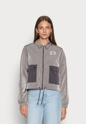 ESSEN WOVEN  - Summer jacket - moon particle/thunder grey