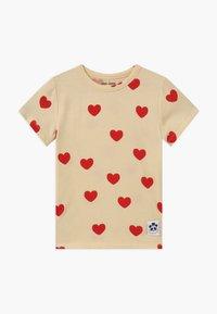 Mini Rodini - HEARTS TEE - T-Shirt print - offwhite - 0