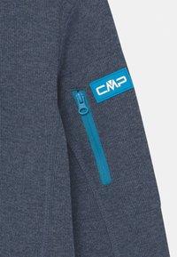 CMP - FIX HOOD UNISEX - Fleece jacket - blue/light blue - 2