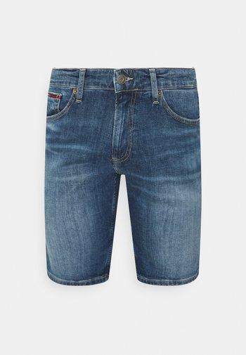 SCANTON SLIM DENIM  - Denim shorts - hampton