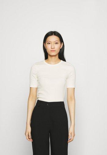T-shirt - Triko spotiskem - offwhite