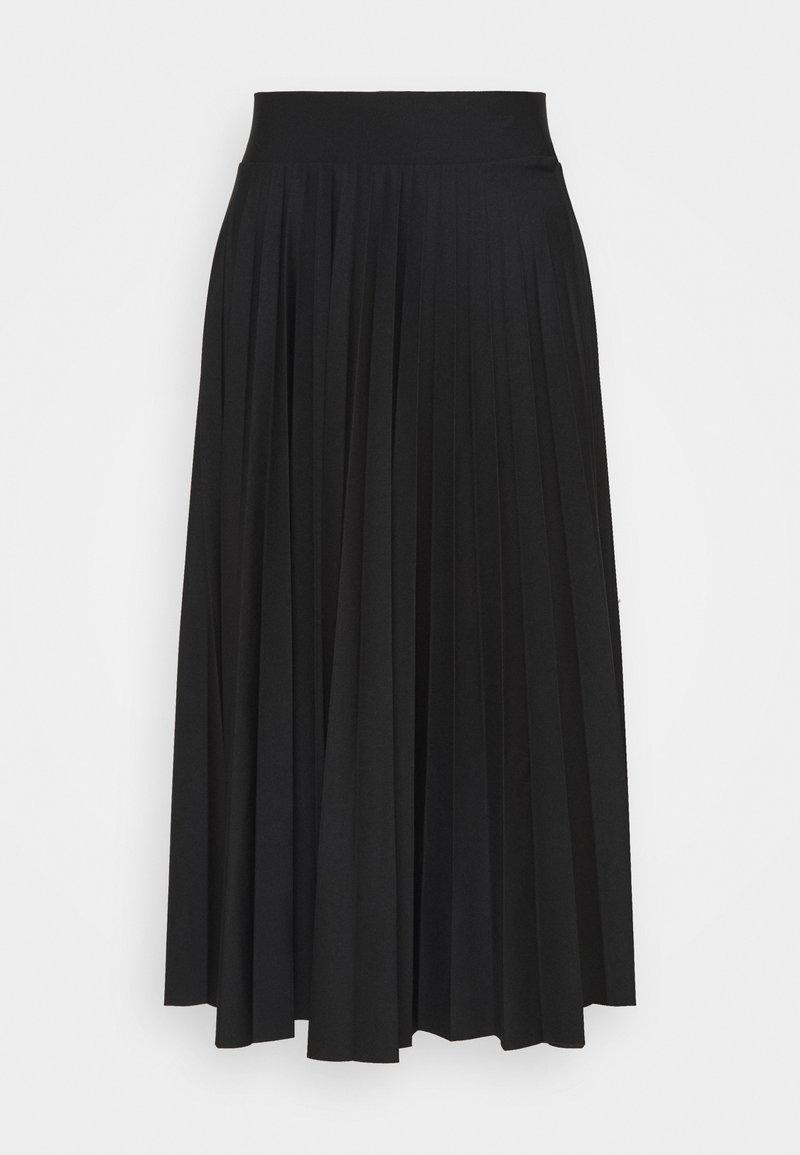 Esprit Collection - PER PLISSÈE - Jupe trapèze - black