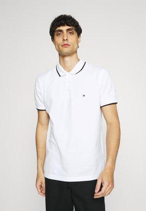 BASIC TIPPED REGULAR - Polo shirt - white