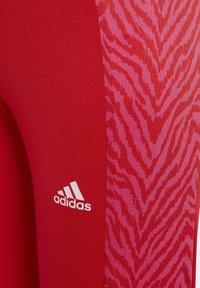 adidas Performance - SEA TIGHT UNISEX - Leggings - red - 2