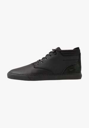 ESPARRE CHUKKA - High-top trainers - black