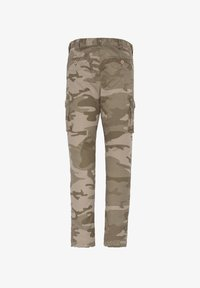 Schott - Cargo trousers - kaki - 1