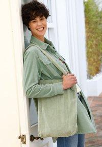 Dress In - Short coat - salbeigrün - 3
