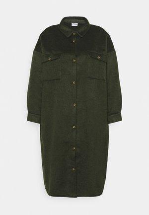 NMLULLA LONG SHACKET - Classic coat - rosin