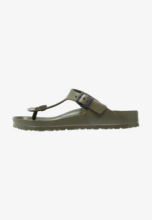 GIZEH - Pool shoes - khaki