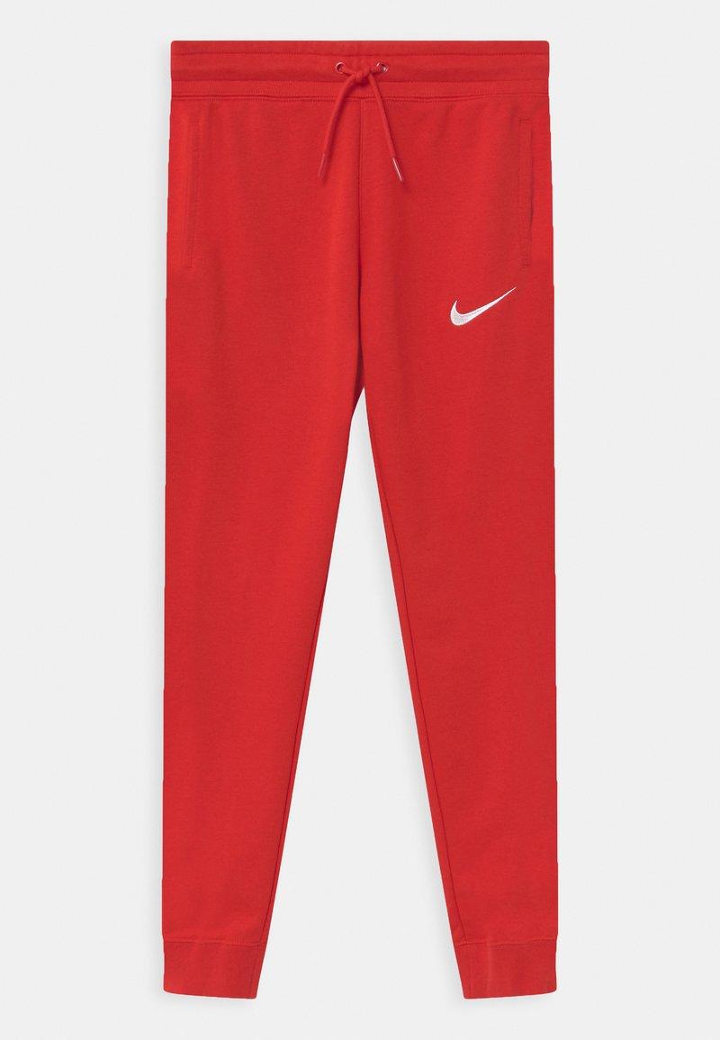 Nike Sportswear - Teplákové kalhoty - university red/white