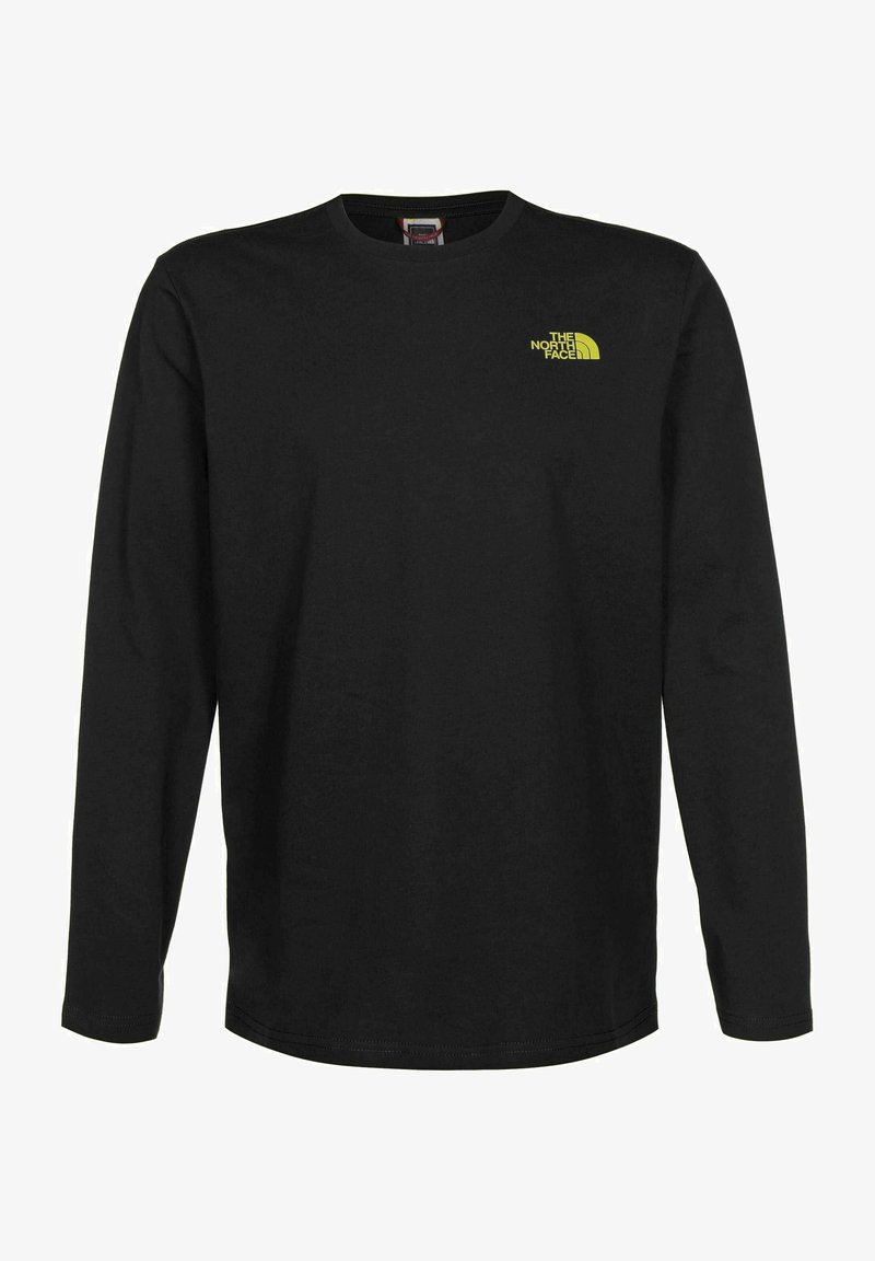 The North Face - EASY - Long sleeved top - aviator navy citronelle green