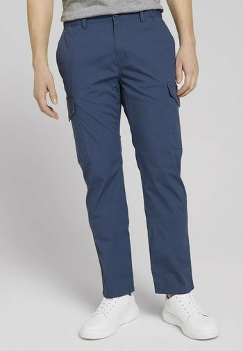 PANTS - Cargo trousers - vintage indigo blue