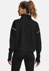 Under Armour - RUSH - Sports shirt - black - 2