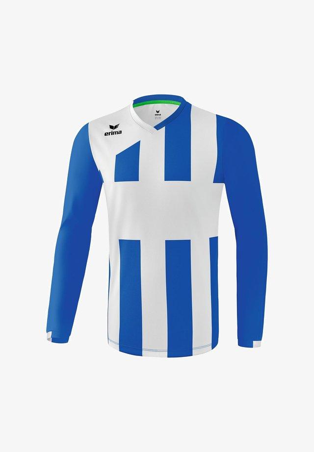 SIENA - Sports shirt - new royal / weiß