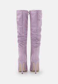 BEBO - MICKIE - Klassiska stövlar - lilac - 3