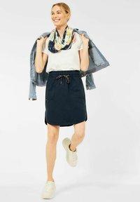 Cecil - Mini skirt - blau - 1