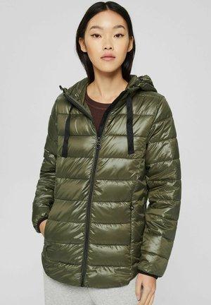 KAPUZE - Light jacket - dark khaki