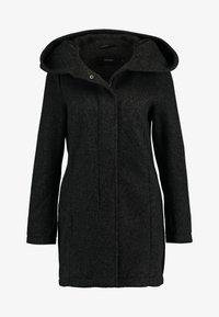 Vero Moda - VMBRUSHEDVERODONA - Krátký kabát - dark grey melange - 3