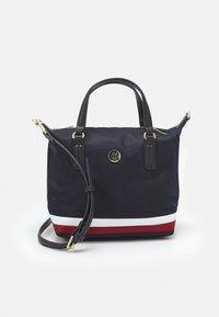Tommy Hilfiger - POPPY SMALL TOTE - Handbag - navy corporate - 0