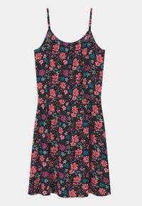Lemon Beret - TEEN GIRLS  - Day dress - neon coral - 1