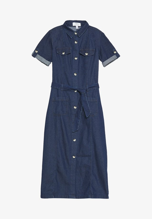 TALL DRESS - Day dress - indigo