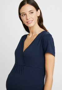 Esprit Maternity - NURSING - T-shirt basic - night blue - 5