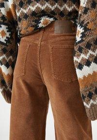 PULL&BEAR - Bukser - mottled brown - 3