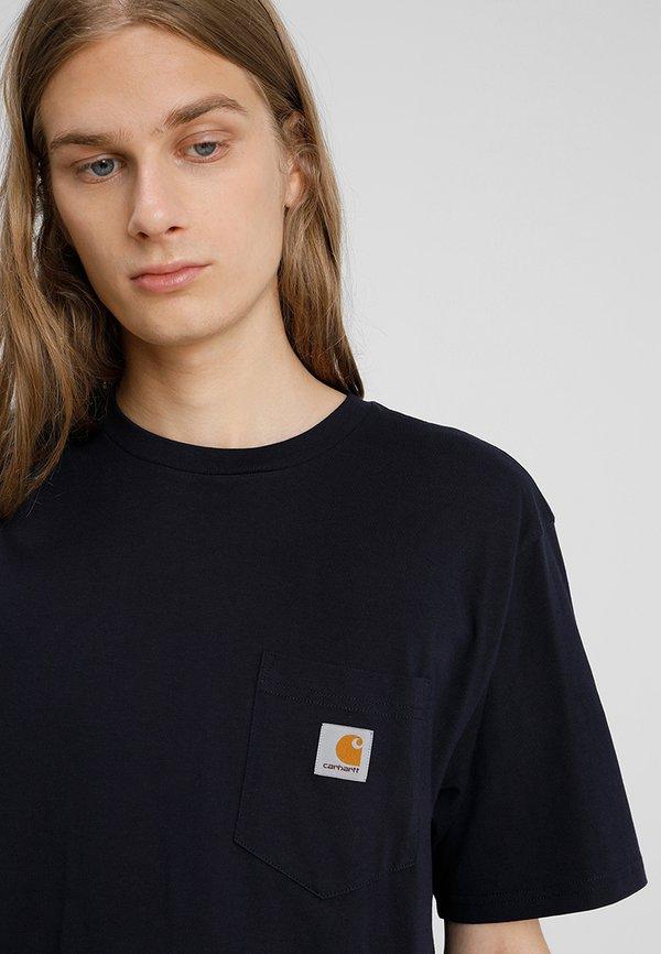 Carhartt WIP T-shirt basic - dark navy/granatowy Odzież Męska GXNQ